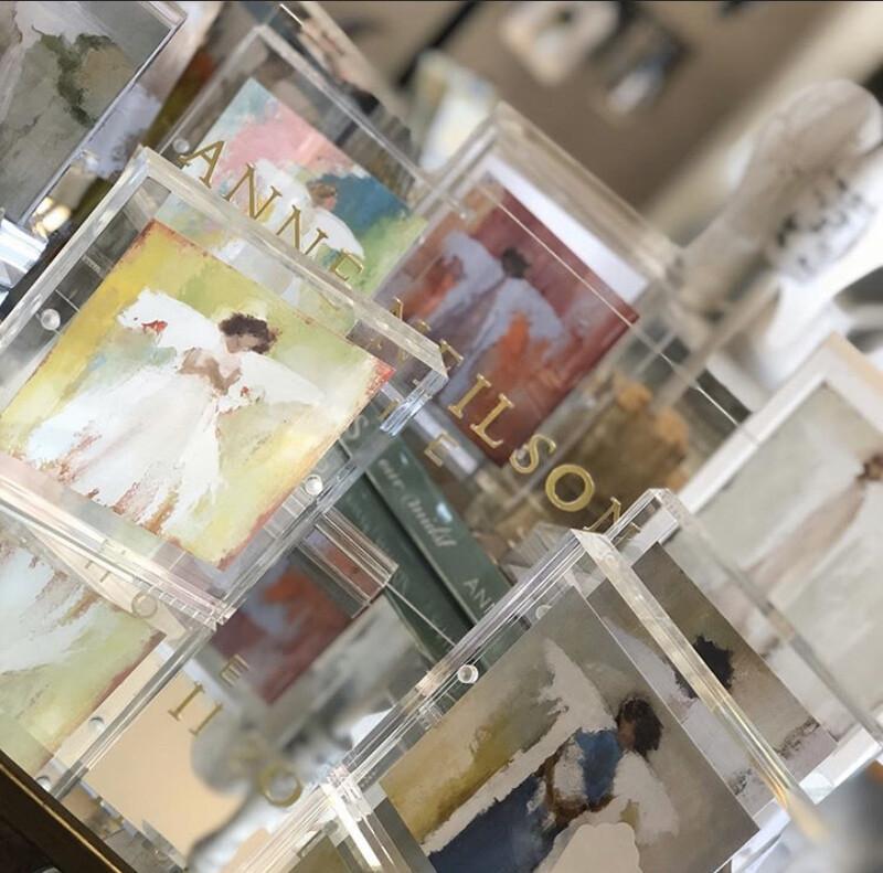 Anne Neilson Acrylic Frame Scripture Card