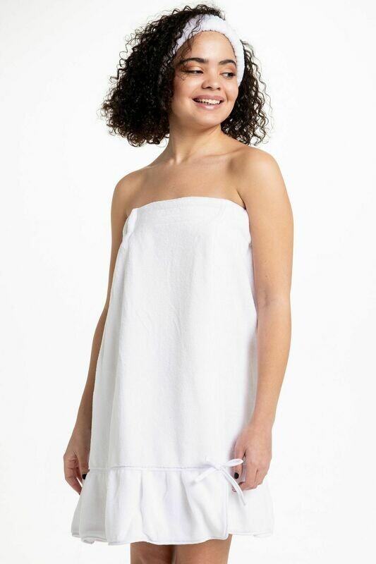 Bella Spa Wrap White Size 1