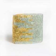 Ink & Alloy 506 Cuff Sky/Gold