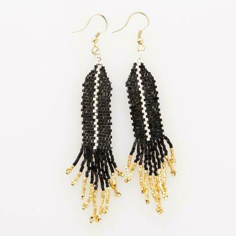 Ink & Alloy 202 Earring Black/Gold