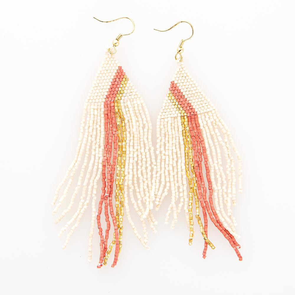 Ink & Alloy Earring 708 Pink/Gold