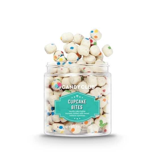 Candy Club Jar Cupcake Bites