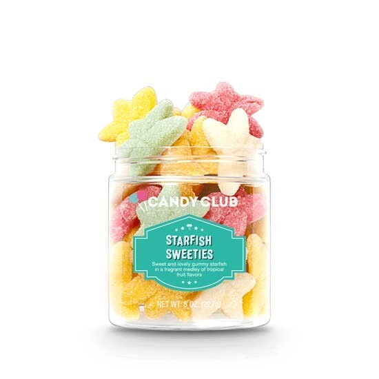 Candy Club Jar Starfish Sweeties