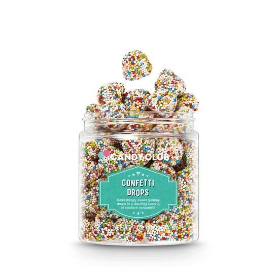 Candy Club Jar Confetti Drops