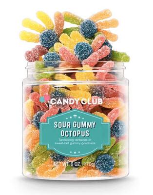 Candy Club Jar Sour Octopus