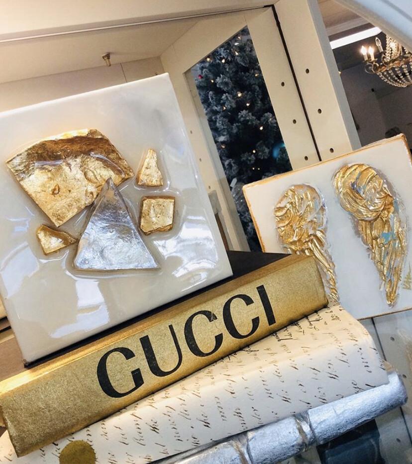 Boutique Book Gold Gucci