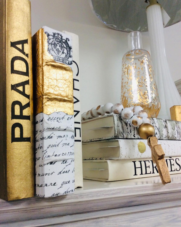 Boutique Book Gold Prada