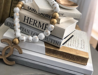 Boutique Book White Hermes