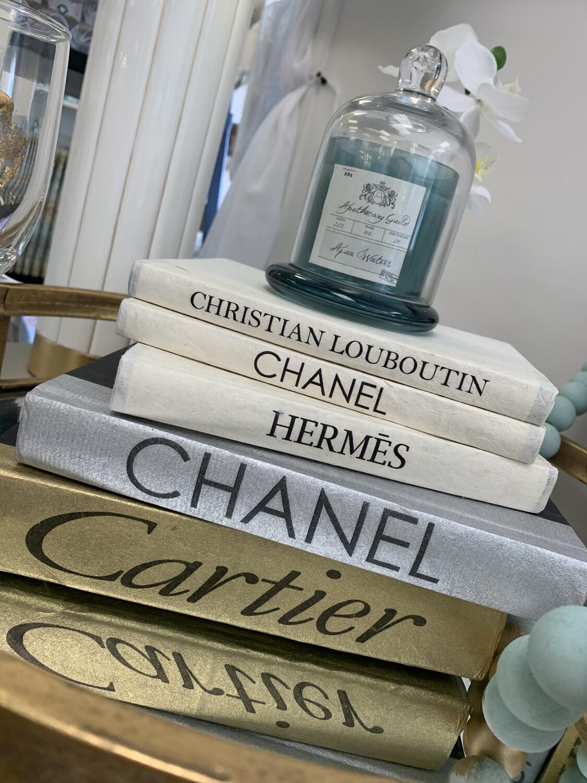 Boutique Book Silver Chanel