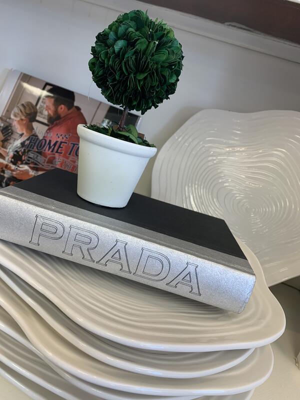 Boutique Book Silver Prada