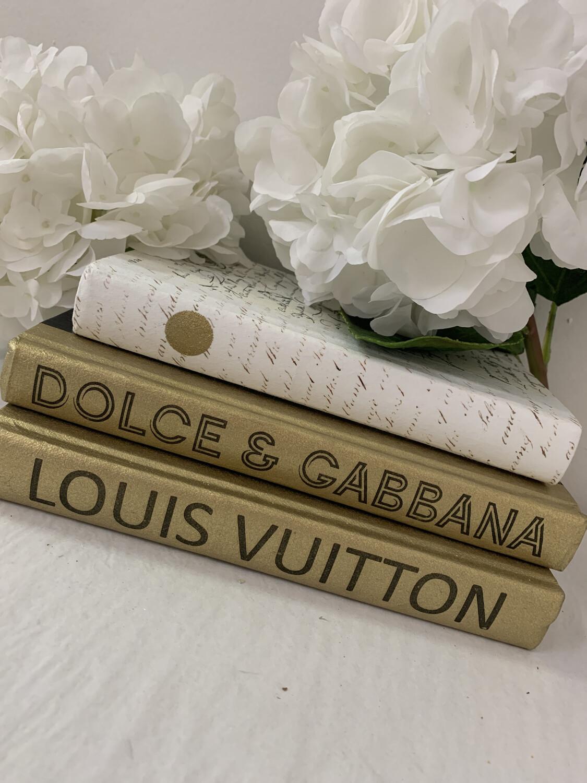 Boutique Book Gold Dolce & Gabbana