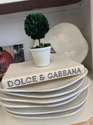 Boutique Book White Dolce & Gabbana