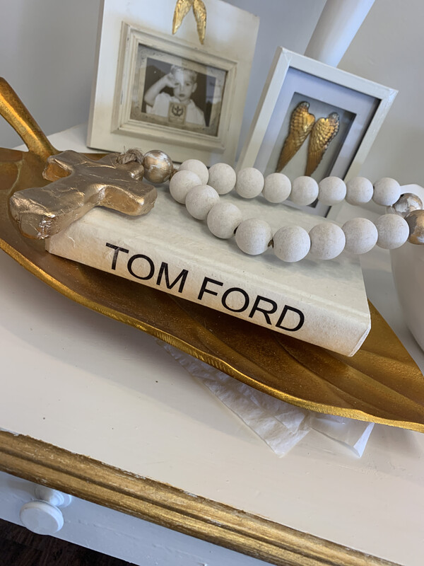 Boutique Book White Tom Ford