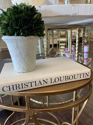 Boutique Book White Christian Louboutin