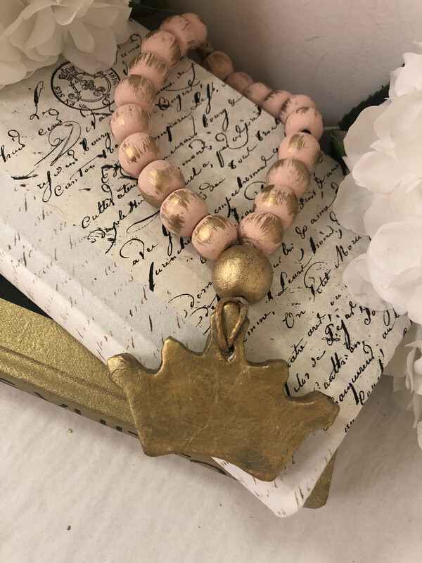 BSD Blessing Bead Small Crown Pink