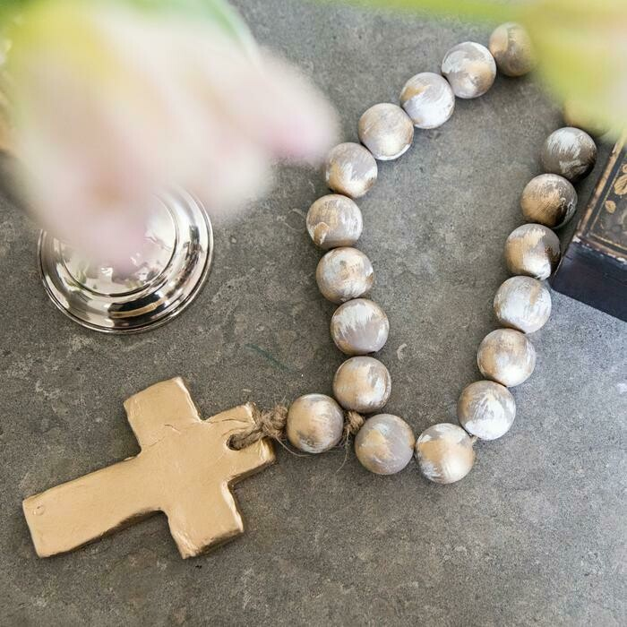SS Blessing Bead Virginia Gray/Gold