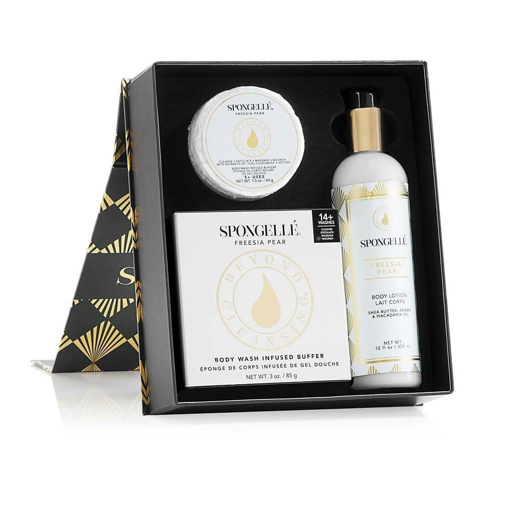 Spongelle Freesia Pear Boxed Gift Set