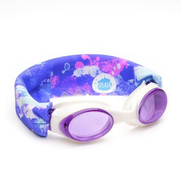 Splash Swim Goggles Unicorn Purple Splash
