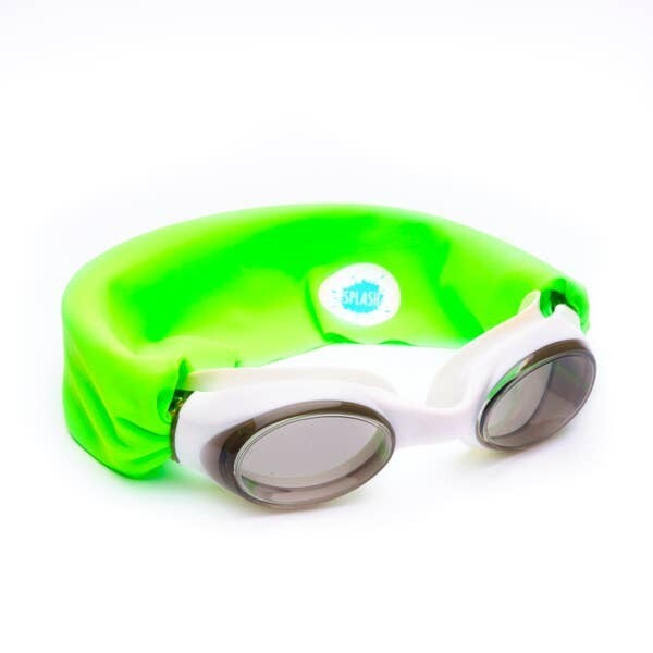 Splash Swim Goggles Neon Green