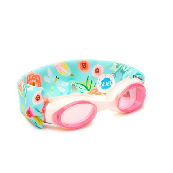 Splash Swim Goggles Blossom Flower