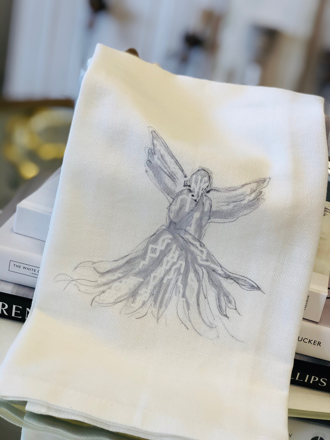 FG Cotton Towel Gray Angel
