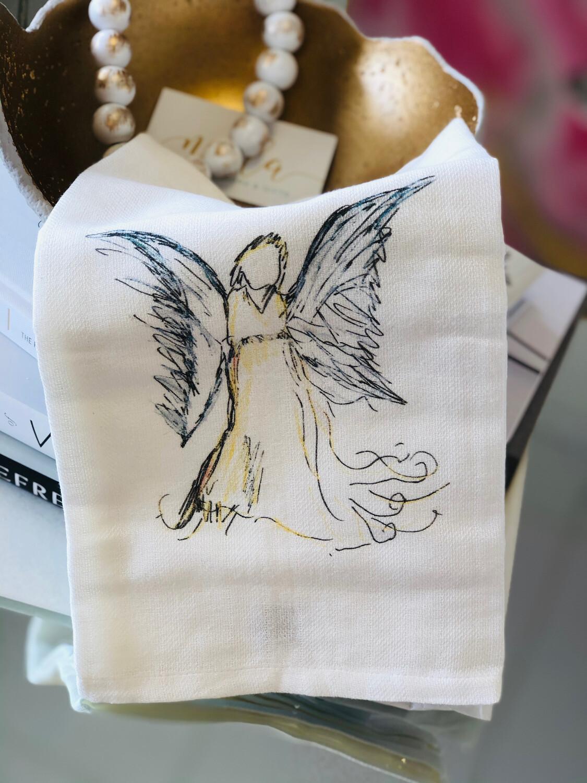 FG Cotton Towel Yellow Angel