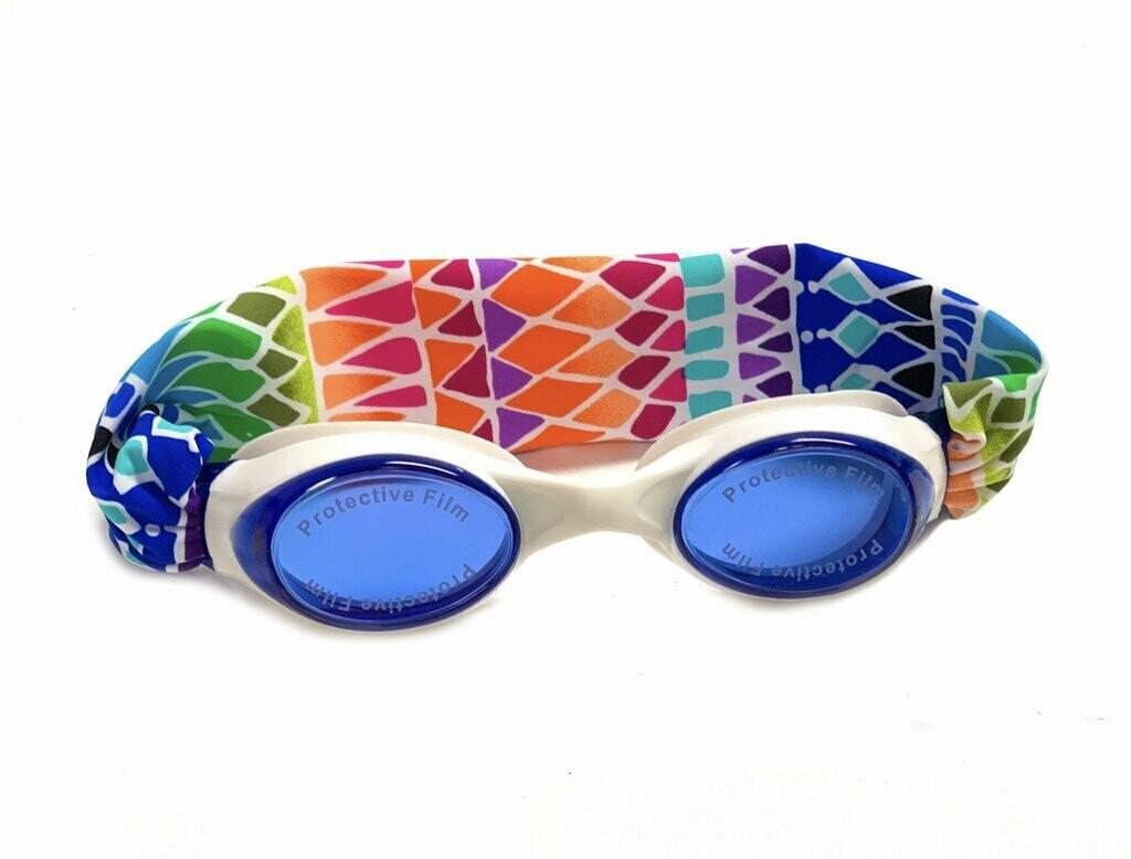 Splash Swim Goggles Mosaic Tracks