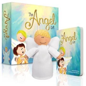 Angel Gift Box Set Brown