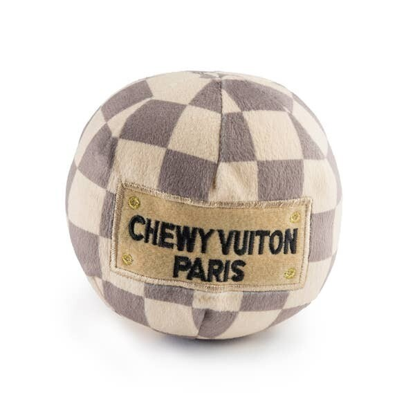 HDD Chewy Vuitton Checker Ball Large