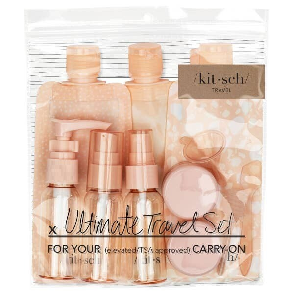 Kitsch Travel Set Pink