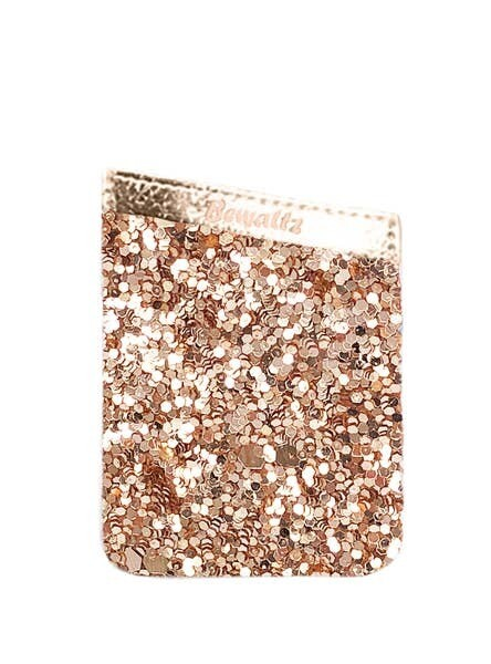Bewaltz Glitter Phone Pocket Gold