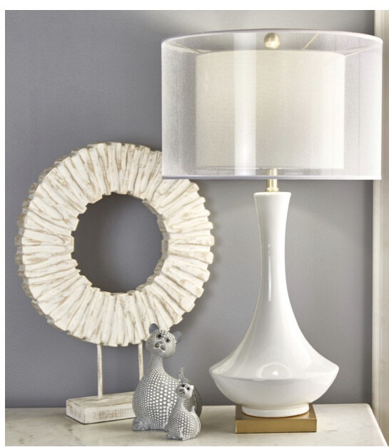 SB Double Shade Lamp