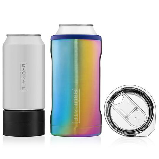 BruMate Hopsulator Trio 3-in-1 Rainbow Titanium