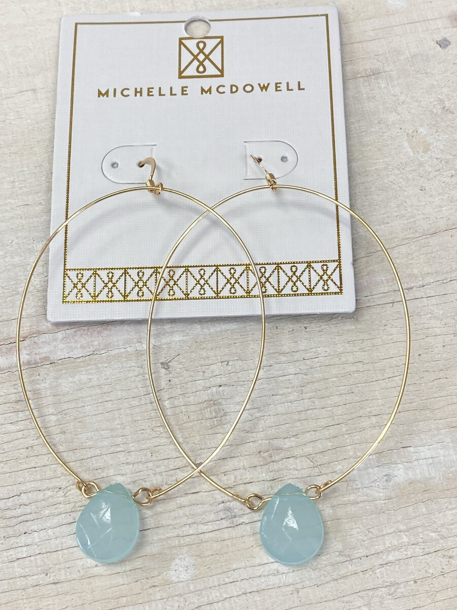 MM Novara Mint Earrings