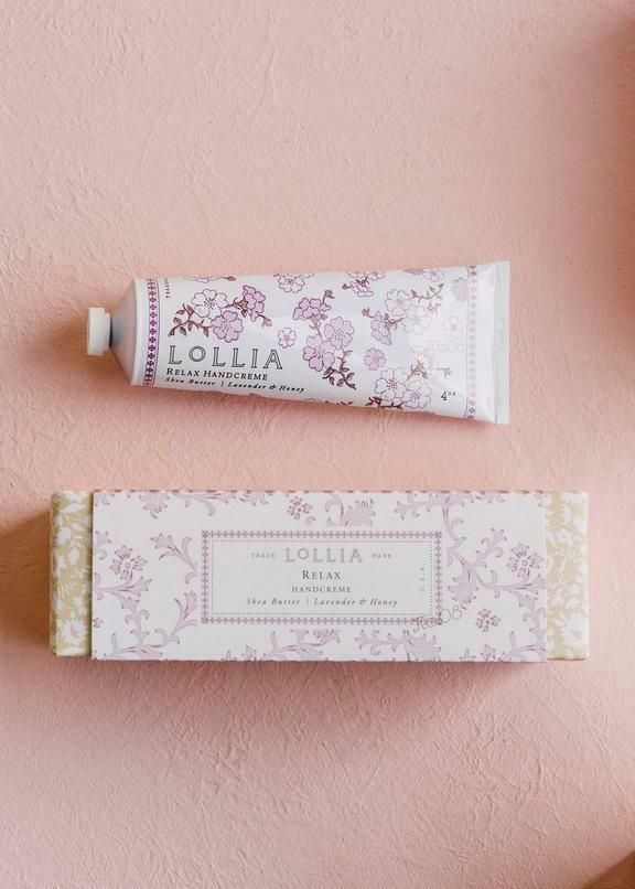 Lollia Shea Butter Hand Cream Relax