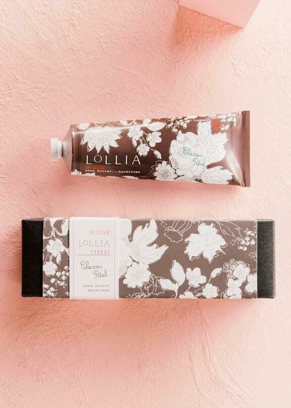 Lollia Shea Butter Hand Cream In Love