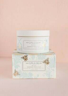 Lollia Whipped Body Butter Wish