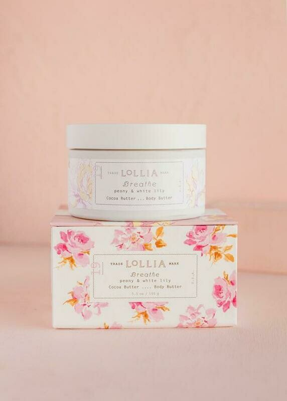 Lollia Whipped Body Butter Breathe
