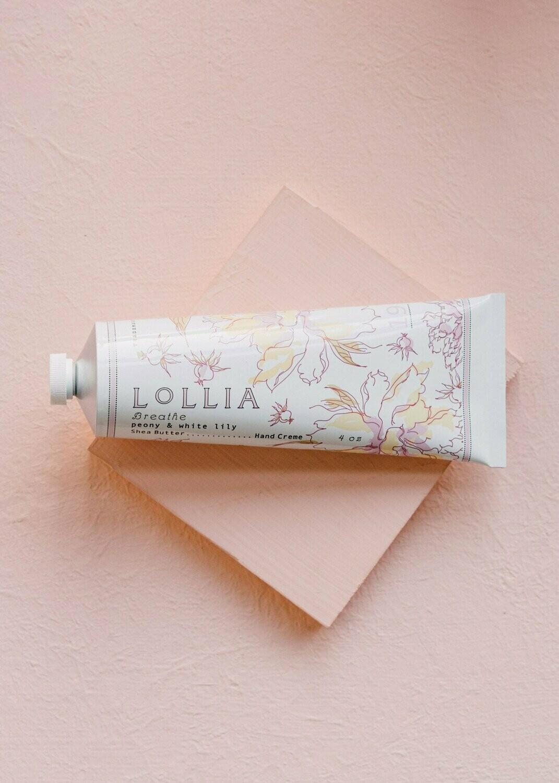 Lollia Shea Butter Hand Cream Breathe