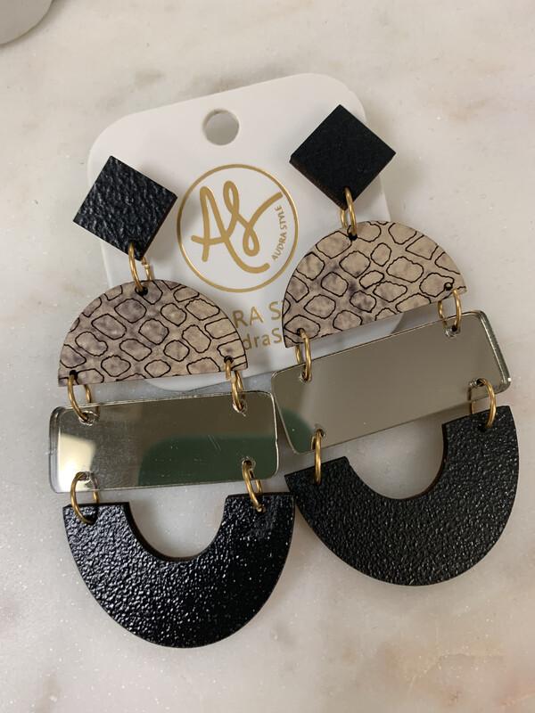 AS Earrings Black Mirror 11