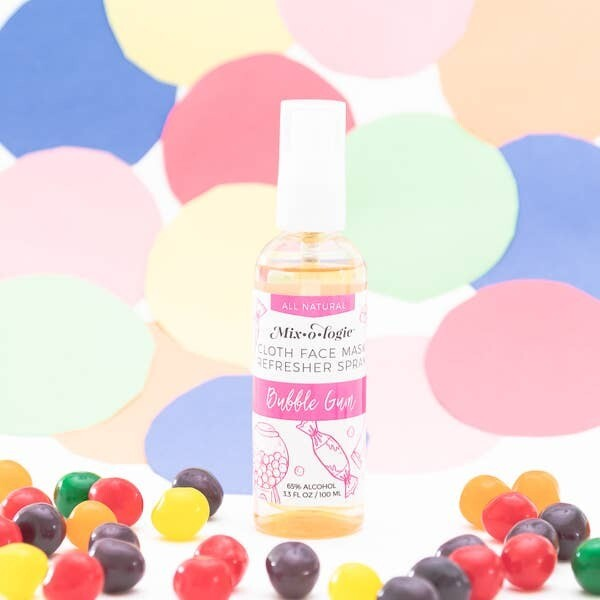 Refresher Cloth Face Mask Spray Bubble Gum