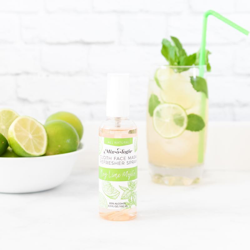 Refresher Cloth Face Mask Spray Key Lime Mojito