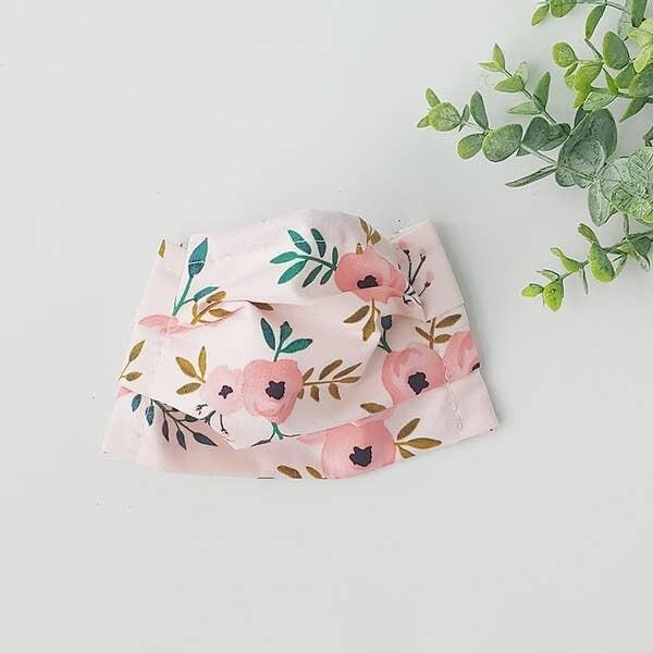 OSC Pink Floral Mask