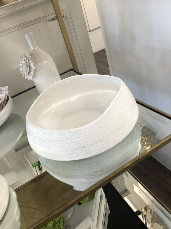 SB White Ceramic Bowl