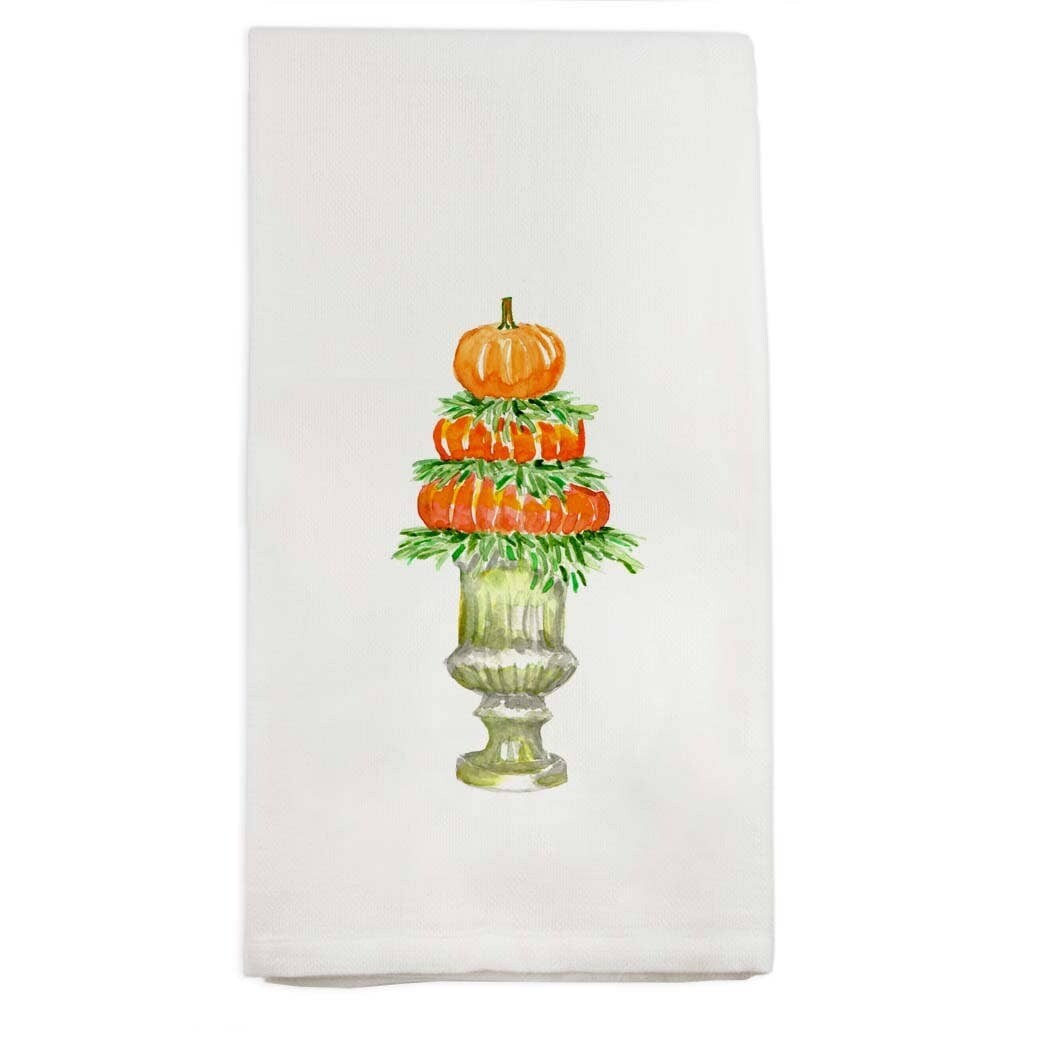 FG Cotton Towel Pumpkin Topiary