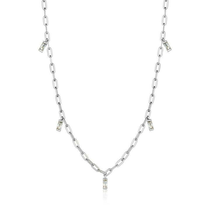 Ania Haie Glow Drop Necklace Silver