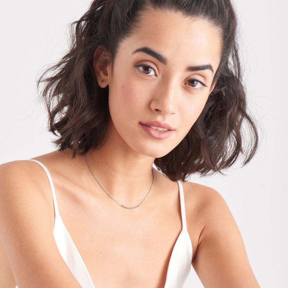 Ania Haie Modern Multi Balls Necklace Silver