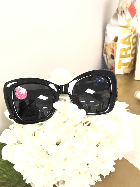 Peepers Mariposa Sun Black +0.00
