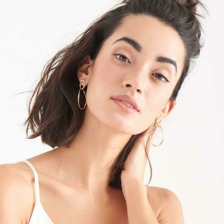 Ania Haie Swirl Nexus Earrings Gold