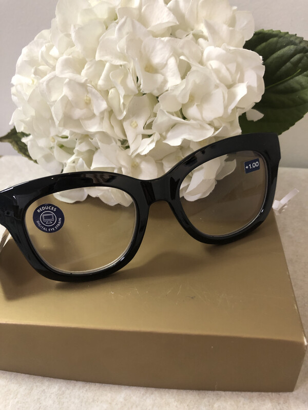 Peepers Center Stage Luxe Black/marble +1.00